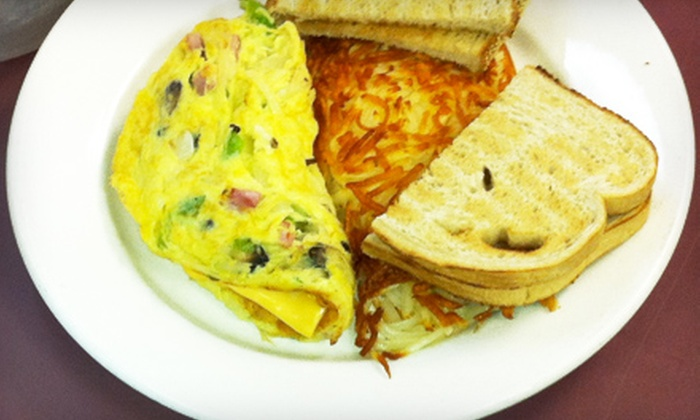 Omelette & Waffle Café - Plymouth: $5 for $10 Worth of Breakfast and Lunch Fare at Omelette & Waffle Café in Plymouth