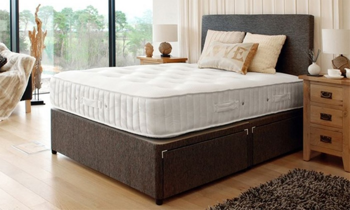 Luxury lambswool mattress groupon goods for Beds groupon