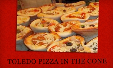 $10 Groupon to Toledo Pizza In The Cone - Toledo Pizza In The Cone in Providence