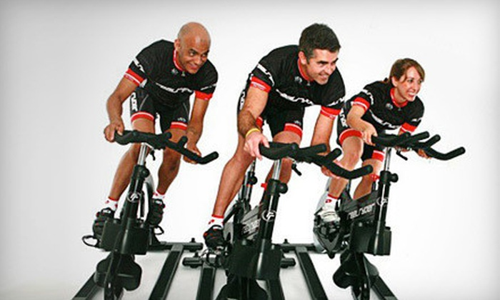 Real Ryder Revolution - Near North Side: $24 for Four Indoor-Cycling Classes at Real Ryder Revolution (Up to $60 Value)