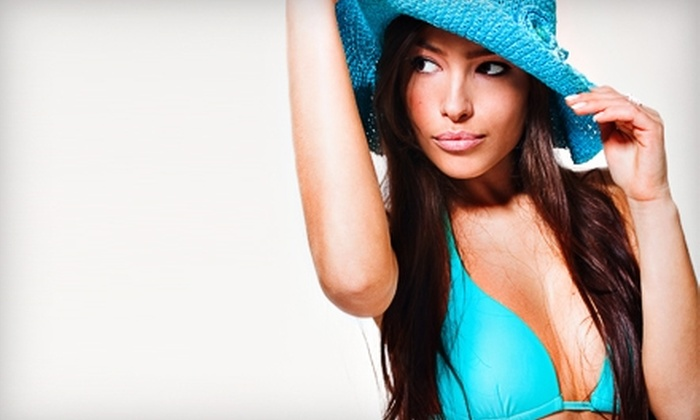 Image Sun Tanning Centers - Lakeland: $16 for One Spray Tan ($32 Value) or $20 for One Month of Unlimited Tanning ($40 Value) at Image Sun Tanning