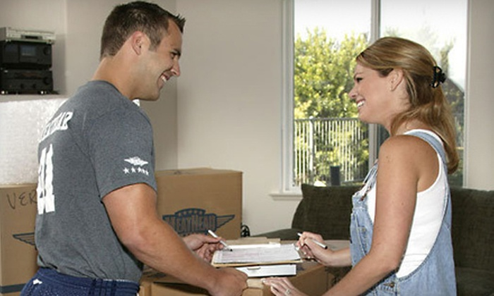 Meathead Movers - Multiple Locations: Four Hours of Moving Services or Four Hours of Packing Services from Meathead Movers (Up to 55% Off)