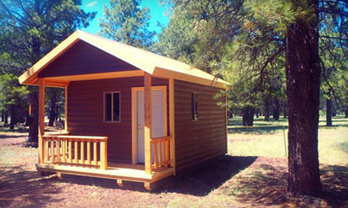 Off Grid Getaways at Flagstaff Nordic Center - Multiple Locations: $30 for $75 Toward a Stay in a Small or Large Yurt or Cabin from Off Grid Getaways at Flagstaff Nordic Center