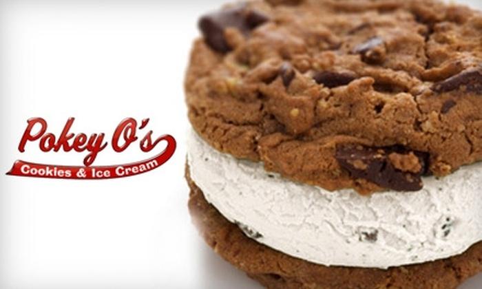 Pokey O's Cookies & Ice Cream - University Park: $5 for $10 Worth of Pokey O's Cookies & Ice Cream
