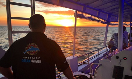 2Hour Sunset Cruise with Beer or Wine for One Person with Adelaide Ocean Safari Up to $88 Value