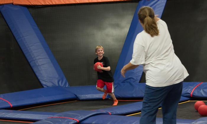 photo regarding Printable Sky Zone Waiver titled Sky Zone - Fairview Heights, IL Groupon
