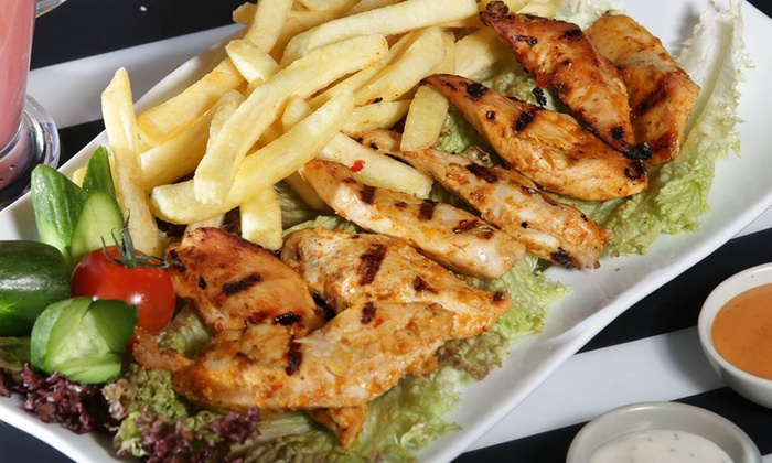 Veri Peri - Bradford: Grilled Main and Side for Two or Four at Veri Peri