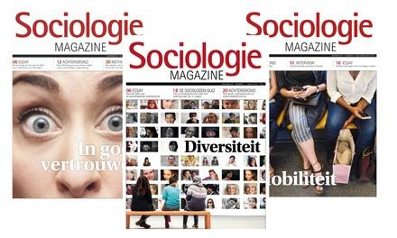 6, 9 of 12 nummers Sociologie Magazine, je abonnement stopt automatisch