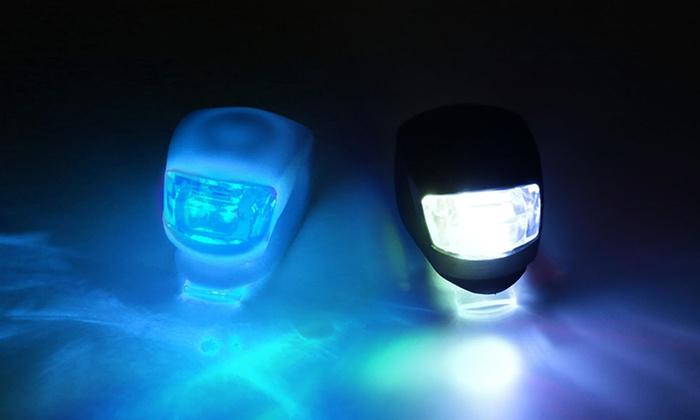 LED Silicone Bike Lights (2-Pack)