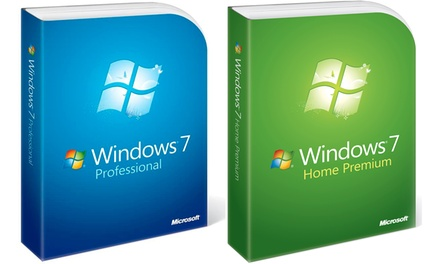 Microsoft Windows 7 Home Premium of Professional, Download versie