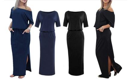 Casual lange jurk