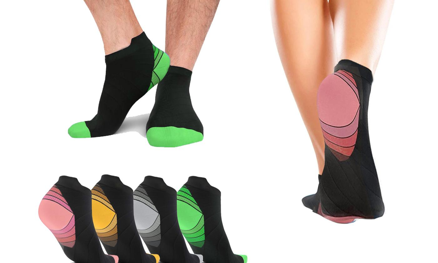 One or Two Pairs of Unisex Compression Socks