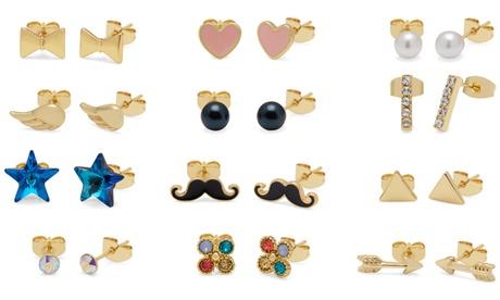 OMG Jewel 12 pares de pendientes con cristales de Swarovski®