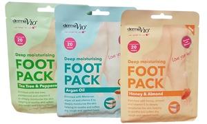 Masques hydratants pour pieds