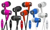iCoverHSPB-SATURN In-ear Wired Stereo Headphones with Mic