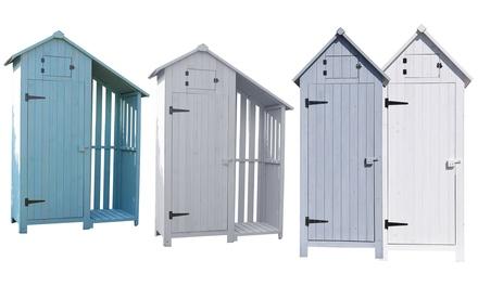 Leco Gartenschrank aus Tannenholz 199,99 € - Außenmöbel & vorrichtungen