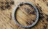 1 or 3Pack Men's Stainless Steel Chain Bracelet