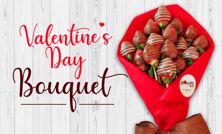 Chocolate Strawberry Bouquet Chocolate Bash Groupon