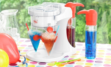 One or Two Cooks Professional Ice Snow Cone and Slushy Maker Machines