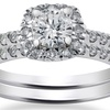 1.00 CTTW Diamond Bridal Set in 14K Gold - By Bliss Diamond
