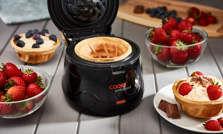 One or Two Cooks Professional Waffle Bowl Makers