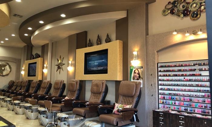 Manicure and Pedicure - Signature Nail Spa   Groupon