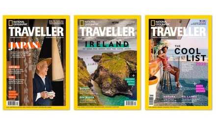 Three- or Ten-Issue Subscription Including Delivery from National Geographic Traveller (Up to 66% Off)