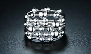Sevil Seven Layered Sphere Ring