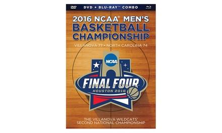 2016 NCAA Men's Basketball Championship Blu-ray/DVD Combo