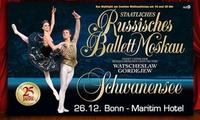 """""""Schwanensee"""" aufgeführt vom Klassischen Russischen Ballett Moskau am 26.12.2017 im Maritim-Hotel Bonn (bis 33% sparen)"""