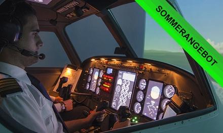 90 Min. Flugsimulator für 1 Pers. od. 150 Min. Flugsimulator für 2 Pers. in Becker's FlugsimulationsCenter (20% sparen*)