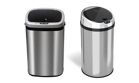 Cubo de basura automático con sensor de movimiento de 30 o 50 litros