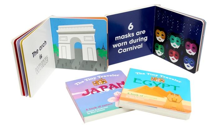 the tiny traveler board book set 4 piece groupon