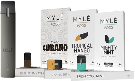 Up To 38 Off On Myle Pod Pen Or Flavor Pods Groupon Goods