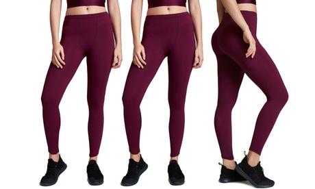 Set de 3 o 5 leggings elásticos