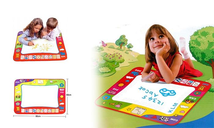 Kids Magic Doodle Mat And Pens Groupon Goods