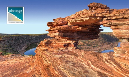 Kalbarri: 2, 3, or 4 Nights or 4 People with Bottle of Wine and Restaurant Voucher at Kalbarri Edge Resort