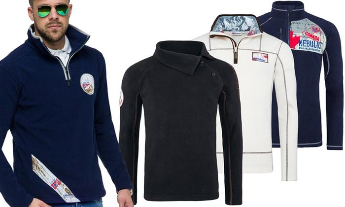 Groupon Goods Global GmbH: Nebulus Herren Fleece-Pullover im Modell und Farbe nach Wahl (bis zu 78% sparen)
