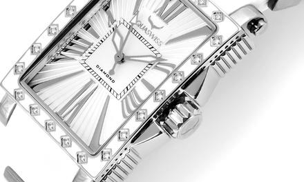 Montre de la marque Aquaswiss ornée de 22 Diamants & Céramique
