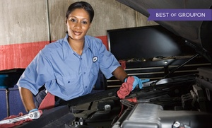 Fletchers Tire & Auto Service: Air-Conditioning Service with Optional Oil Change at Fletcher's Tire & Auto Service (Up to 69% Off)