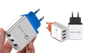 1, 2 ou 3 chargeurs USB rapides
