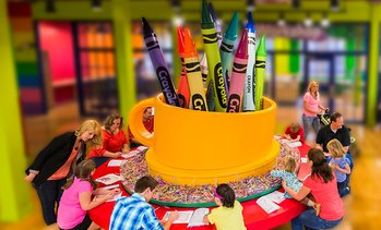 42% Off Admission to Crayola Experience Mall of America