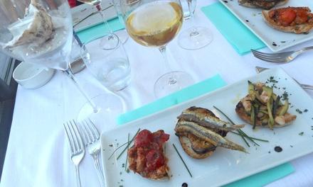 Menu di pesce di 3 o 4 portate a scelta e vino da Ristorante la Sirenetta sul porto di Anzio (sconto fino a 56%)