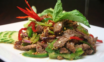 3Course Thai Meal with Beer $39, 4 $78 or 6 People $117 at Mortar & Pestle Manly Up to $241.50 Value