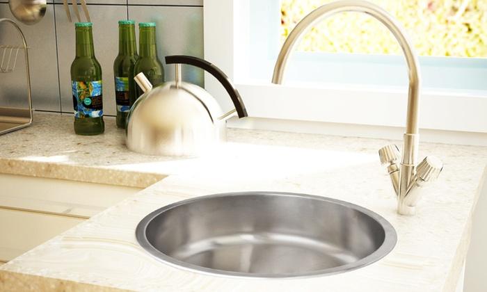 Lavello da cucina in acciaio inox | Groupon Goods