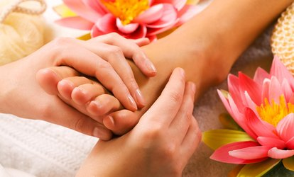 image for 45- or 60-Minute Foot Reflexology Package at Q Massage (Up to 54% Off)