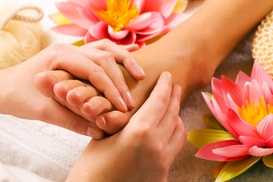 $24 for 60 Minute Foot Reflexology with 20 Minute Foot Soaking ($48 Value) - Reflexology - Foot