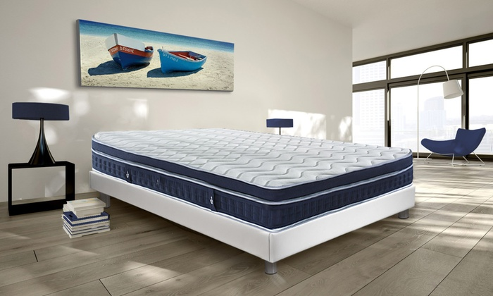 matelas oc an m moire de forme et ressorts ensach s sampur. Black Bedroom Furniture Sets. Home Design Ideas