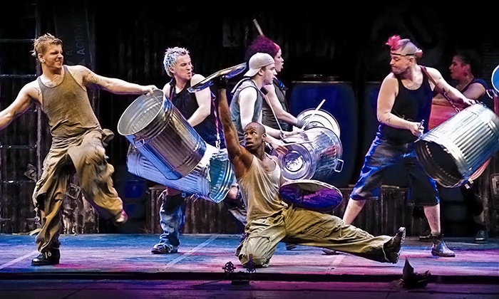 "Stomp - Rialto Square Theatre: ""Stomp"" at Rialto Square Theatre on March 12 at 7:30 p.m. (Up to 41% Off)"