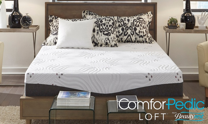 Up To 81 Off On 14 Nrgel Memory Foam Mattress Groupon Goods